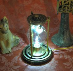 Steampunk Lamp Steam Punk Light Crookes Conrow Desk Lamp Vintage Antique Light Victorian Industrial Lamp Home Decor By Victorian Machines. $95.00, via Etsy.
