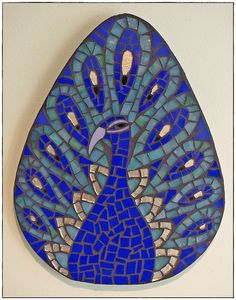 PEACOCK~ Mosaic Peacock, via Flickr.  Found on flickr.com  Flickr Mosaic Peacock by Meaco's Art Garden on Flickr
