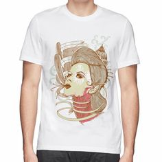 S-2XL great quality Art Deco Zombie print men 3d t shirt tops tees t-shirt of man(China (Mainland))