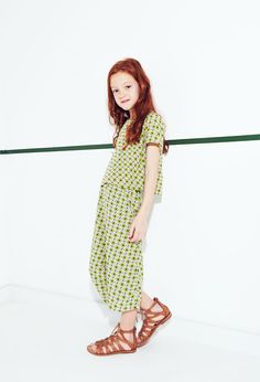 ZARA - LOOKBOOK - Look 2 Zara Kids, Young Fashion, Fashion Kids, Massimo Dutti Kids, Zara Looks, Fashion Figures, Little Fashionista, Little Girl Fashion, Kind Mode