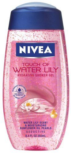 Nivea Touch Of Water Lily Hydrating Shower Gel, 8.4-Ounce Bottles (Pack of 3) by NIVEA. $19.62