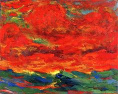 Sky and Sea, Emil Nolde 1930