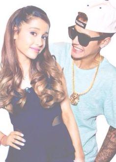 Ariana Grande and Justin Bieber :)