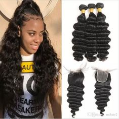 Hair Brazilian Body Wave Hair Lace Closure Pre Plucked With Baby Hair 4*4 Middle/free/three Part Top Closure Non Remy Lovely Luster Qualified ali Sky