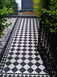 edwardian front path tiles - Google Search