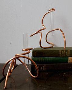 diy project: sculptural copper coil vases   Design*Sponge
