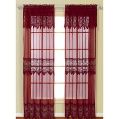 Found it at Wayfair - Franklyn Sheer Single Curtain Panel