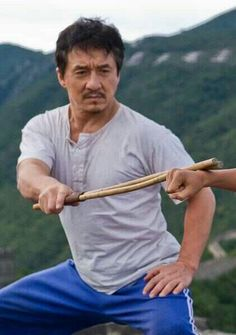 Hot. Loved Jackie Chan before I ever went to China