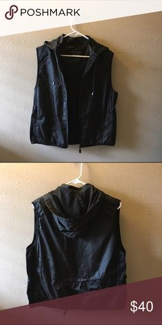 Windbreaker Vest Lightweight with mesh inside the hood. Great for hiking, other outdoor activities too!   Brand: Free Country (I believe it's a Korean Brand) Size 95 (Size SMALL) also fits size Medium though!   Original price: $100  (NOT NIKE. Only tagged Nike for more views!) Nike Jackets & Coats