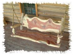 log swings | ... pictured log swing is 5 feet long. We can make these in any lengths