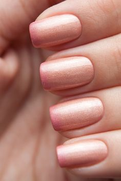 This coral shade is so elegant and chic at the same time. Just pop a little darker shade at the ends, on a just applied coral – nude shade and then apply another coat of the coral-nude shade. Make sure you apply all three coats quickly, so the colors blend together.