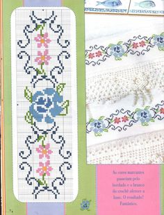 17 best images about embroidery cards bookmarks on Cross Stitch Rose, Cross Stitch Borders, Cross Stitch Flowers, Cross Stitch Designs, Cross Stitching, Cross Stitch Embroidery, Cross Stitch Patterns, Crochet Patterns, Embroidery Cards