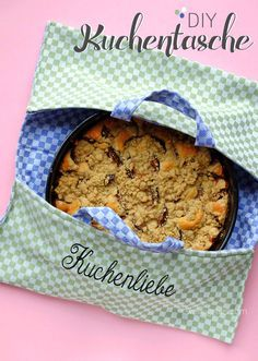 DIY Kuchentasche | genähte Tasche zum Transport von Kuchen | waseigenes.com