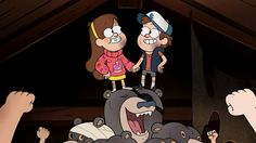 Mabel, Dipper, and the Multibear
