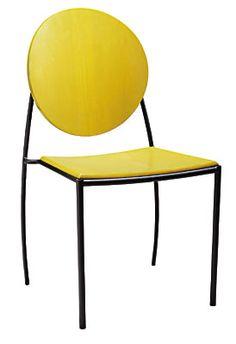 Vik-ter II Stacking Chair at Dakota Jackson Mellow Yellow, Blue Yellow, Stacking Chairs, Contemporary Dining Chairs, Chairs Online, Dining Room Chairs, Architecture Design, Stool, Jackson