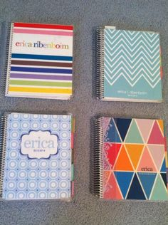 Ideas for my next Erin Condren planner cover:  blue with white chevrons.  Yes.