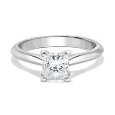 Platinum Princess Cut Knife Edge Wedfit Diamond Engagement Ring Diamond Rings, Diamond Engagement Rings, Quality Diamonds, Princess Cut, Delivery, Stone, Jewelry, Rock, Jewlery