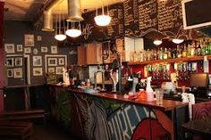 Mr Wolf's Noodle Bar in Bristol - Bristol's best independent music venue Sport Bar Design, Old Building, Liquor Cabinet, Dining Room, Restaurant, Furniture, Image, Home Decor, Tiny Houses