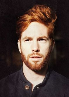 This thread is about cool haircuts and hairstyle ideas for red hair men. I will be posting plenty of pictures of red hair styles for guys and anyone else can also post pictures. Hot Ginger Men, Ginger Boy, Ginger Beard, Ginger Hair, Beards And Mustaches, Retro Hairstyles, Hairstyles Haircuts, Medium Hairstyles, Latest Hairstyles