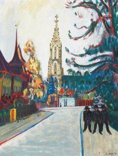Jan Wiegers, Berne, La Cathédrale, 1952
