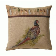 Woven in FranceHistory: Hunting's lovers will appreciate these hunting settings. Composition: 100% Cotton.Finish: Cushion- Backed with velvet lining and zipper.