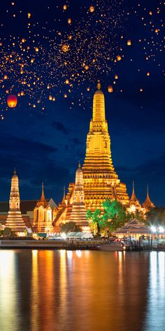 Wat Arun Rajwararam, Bangkok, Thailand