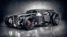 Lamborghini Rat Rod'tan Bir Görüntü