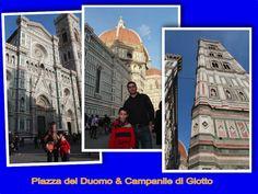 Piazza del Duomo & Campanile di Giotto #Firenze #TravelWithKids