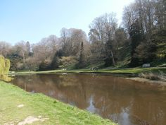 Fountains Abbey - the river