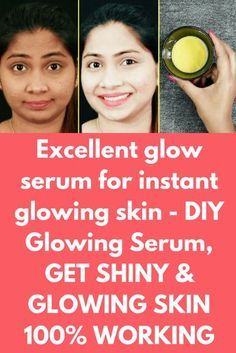 Excellent glow serum for instant glowing skin - DIY Glowing Serum, GET SHINY & GLOWING SKIN 100% WORKING Today I will share special homemade glow serum to get glowing, fair and shiny skin in just 15 days. This is natural and 100% effective. Ingredients, you will need- 2-3 tablespoon of rose water 2-3 pinch of saffron 3 tablespoon of Aloe Vera gel (I prefer fresh aloe vera) 1 teaspoon of sweet almond oil 2 …