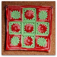 Crochet Cuadrado del mes de Enero