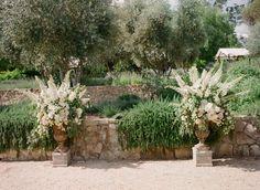 Stunning ceremony #flowers #wedding | Photography: elizabethmessina.com | Wedding Design: merrylbrownevents.com | Floral Design: mindyrice.com