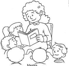 School Fun, Sunday School, Kindergarten Jobs, Community Helpers Preschool, Community Workers, Kids English, Preschool Books, Bible For Kids, Teachers' Day