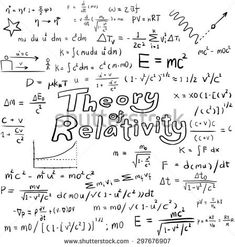 Albert Einstein law theory and physics mathematical