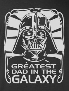 Trendy Pop Culture Hotter Topic Star Wars Funny Darth Vader Greatest Dad in the Galaxy Tee t-shirt tshirt Unisex Ladies Black