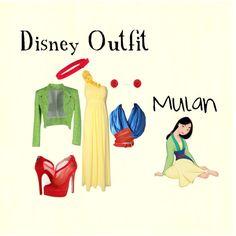 """""""Mulan Disney outfit"""""""