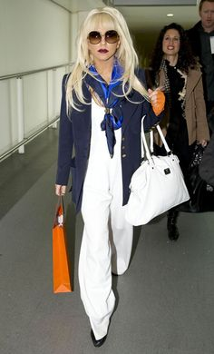 Even lady Gaga loves the classic / classy silk scarf !
