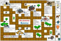 Plansza do gry Rycerze