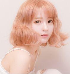 Japanese sweet curly hair SE6571