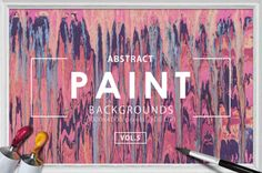 Abstract Paint Backgrounds Vol.5 by Igor Vitkovskiy