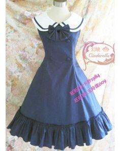 College Style Lolita Jumper $49.99-Cotton Lolita Dresses - Dresses & Jumpers - My Lolita Dress
