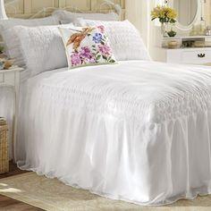Savannah Smocked Bedding and Window Treatment