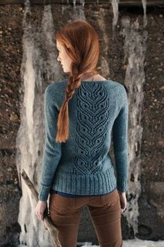 Ginny's Cardigan - Media - Knitting Daily  things that need to be turned into crochet so i can make them
