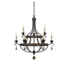 Found it at Joss & Main - Aubrey 9-Light Candle-Style Chandelier