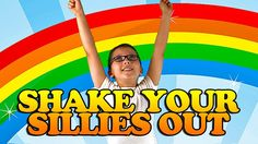 """Shake Your Sillies Out"" is a great brain break, action song to make it easy and fun to take a quick energy break.  This movement song is also great for circle time, morning meeting, group activities or those bad weather days when children can't go outside to play. It's ideal for preschool through lower elementary."