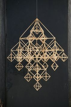 "DIY himmeli kit ""Family himmeli"" (traditional Finnish design) (reed straw, length - cm), ca 600 pcs) Christmas Mood, Christmas Gift Guide, Christmas Crafts, Star Diy, Paper Crafts Origami, Handmade Ornaments, Korn, Craft Supplies, Diy Crafts"