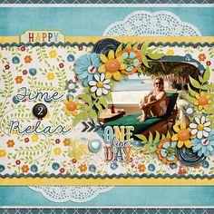 Time 2 Relax - Scrapbook.com