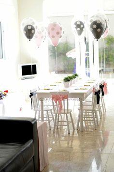 Pink Paris Party via Kara's Party Ideas   Kara'sPartyIdeas.com #pink #paris #party #planning #ideas #supplies (7)