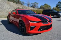 2016 Chevrolet Camaro 2dr Cpe Ss W/2ss, Red Hot In Cayce, South Carolina