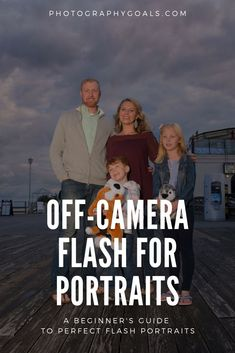 Off-camera lighting for portraits can be tricky for beginners. This flash photography guide will show you how to achieve Flash Photography Tips, Creative Portrait Photography, Photography Tips For Beginners, Photography Lessons, Creative Portraits, Light Photography, Photography Tutorials, Photography Photos, Inspiring Photography